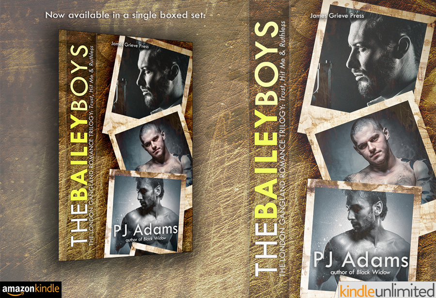 The Bailey Boys: The complete London gangland romance trilogy by PJ Adams